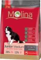 Сухой корм Molina для щенков средних пород, 3 кг (650883)