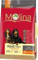 Сухой корм Molina для взрослых собак мелких пород, 7,5 кг (650944)