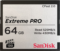 SANDISK EXTREME PRO CFAST2.0 64GB (SDCFSP-064G-G46D)  фото