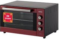 Мини-печь Simfer M 3524 красный/черный