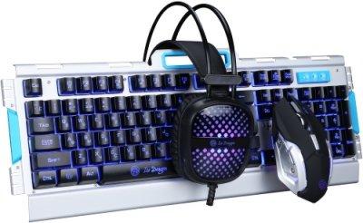 Купить игровой набор Marvo VAR-510 клавиатура + наушники + мышь по выгодной цене в интернет-магазине ЭЛЬДОРАДО с доставкой в Москве и регионах России