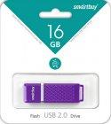 USB флешка Smartbuy Quartz Series 16Gb, Violet (SB16GBQZ-V)