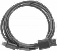 Кабель Elray Lightning - USB 2.0, 1,2 м, Grey (ALMBC12GR)