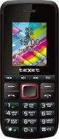 Мобильный телефон teXet TM-203, Black/Red
