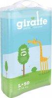 Трусики-подгузники LOVULAR Giraffe L, 9-14 кг., 50 шт (429049)