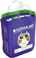 Трусики-подгузники LOVULAR ночные, L, 9-14 кг., 19 шт (429053)