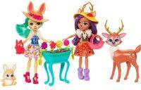 Игровой набор Enchantimals из двух кукол с любимыми зверюшками (FDG01)