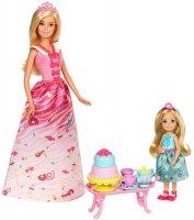 Игровой набор Barbie Чаепитие в Сладкограде (FDJ19)