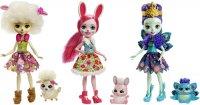 Игровой набор Enchantimals из трех кукол со зверушками (FMG18)