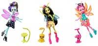 Цветочные мини-монстрики Monster High с питомцами, в ассортименте (FCV47)