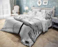Комплект постельного белья Волшебная Ночь Poppy, евро (702140)