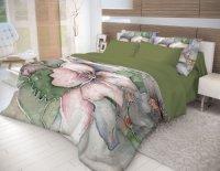 Комплект постельного белья Волшебная Ночь Ранфорс, Humming, евро (704321)