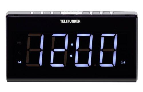 Купить Часы с радио Telefunken, TF-1525 Black