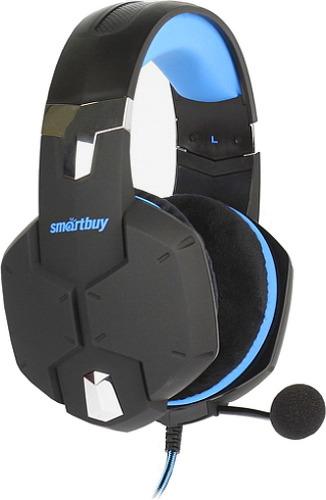 Купить Игровые наушники Smartbuy, Rush Viper SBHG-2000 черный/синий