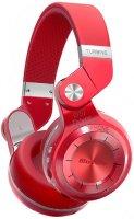 Беспроводные наушники с микрофоном Bluedio T2+ Red