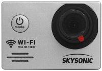Экшн-камера Skysonic Active Silver/Black