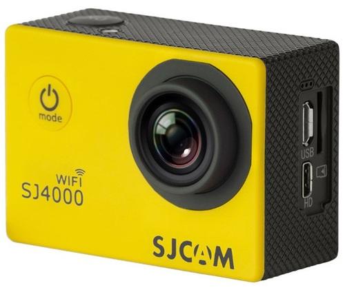 Купить Экшн-камера SJCAM, SJ4000 WIFI Yellow