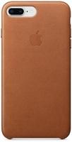 Купить Чехол Apple, для iPhone 8 Plus/7 Plus Leather Case Saddle Brown (MQHK2ZM/A)