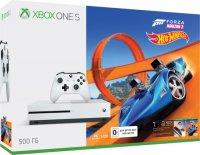 Игровая приставка Microsoft Xbox One S 500Gb + Forza Horizon 3 + DLC (ZQ9-00212)