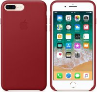Чехол Apple для iPhone 8 Plus/7 Plus Leather Case Red (MQHN2ZM/A)