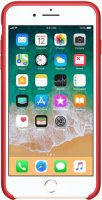Чехол Apple для iPhone 8 Plus/7 Plus Silicone Case Red (MQH12ZM/A)