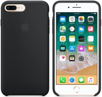 Чехол Apple для iPhone 8 Plus/7 Plus Silicone Case Black (MQGW2ZM/A)
