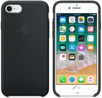 Чехол Apple для iPhone 8/7 Silicone Case Black (MQGK2ZM/A)