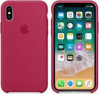 Чехол Apple для iPhone X Silicone Case Rose Red (MQT82ZM/A)