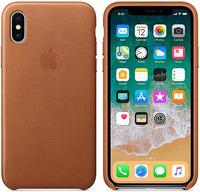 Купить Чехол Apple, для iPhone X Leather Case Saddle Brown (MQTA2ZM/A)