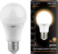 GAUSS LED A60 E27 7W 2700K (102502107)