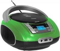 Магнитола Telefunken TF-CSRP3448 зеленый