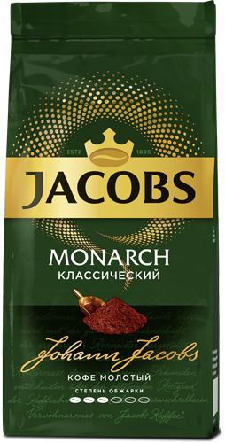 Кофе молотый Jacobs Monarch, 230 гр (4251755)