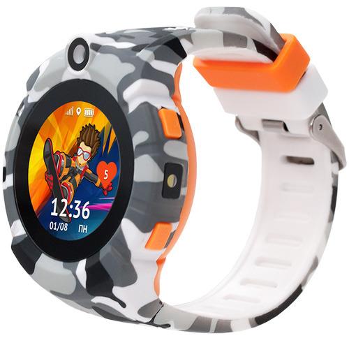 Купить Умные часы Кнопка Жизни, Aimoto Sport, милитари (9900103)