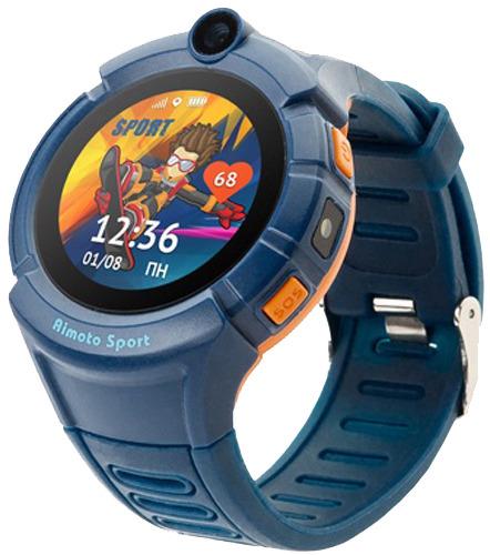 Купить Умные часы Кнопка Жизни, Aimoto Sport, синий (9900104)