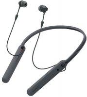 Беспроводные Bluetooth наушники с микрофоном Sony WI-C400/BZ Black