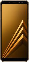 Смартфон SAMSUNG GALAXY A8 2018 GOLD (SM-A530FZDDSER)