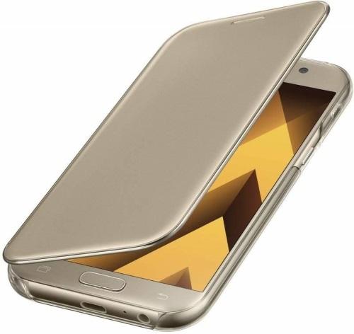 Чехол для смартфона Чехол Samsung Clear View Cover Для Samsung Galaxy A7 (2017) (Ef-Za720Cfegru) Москва