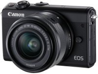 Системный фотоаппарат Canon EOS M100 Kit EF-M15-45 IS STM Black (2209C012AA)