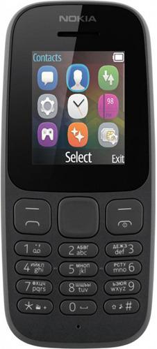483abe122be6d Мобильный телефон Nokia 105 TA-1010 Black - купить кнопочный телефон НОКИА  105 TA-1010 Black по выгодной цене в интернет-магазине ЭЛЬДОРАДО с  доставкой в ...