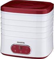 Сушилка для овощей и фруктов Marta MT-1944 Red Garnet