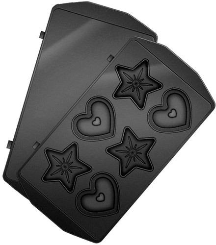 Купить Комплект съемных панелей для мультипекаря Redmond, RAMB-24 (Сердечки и звездочки)