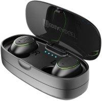 Наушники с микрофоном Smarterra Aero Twins AT400C Green