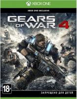Игра для Xbox One Microsoft Gears of War 4 игровая консоль microsoft xbox one s с 1 тб памяти играми gears 5 gears of war ultimate edition gears of war 2 3 4 234 01030 белый