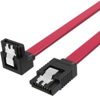 Кабель Vention SATA 3 M/SATA 3 M (угол 90), 0.5 м, Red (KDDRD)
