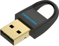 Bluetooth-адаптер Vention USB/Bluetooth 4.0, черный (CDDB0)
