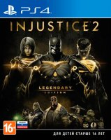 Игра для PS4 WB Injustice 2. Legendary Edition