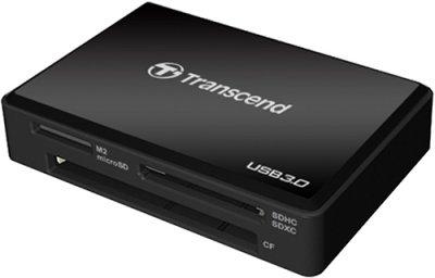 Купить картридер Transcend RDF8 USB 3.0 Black (TS-RDF8K) по выгодной цене в интернет-магазине ЭЛЬДОРАДО с доставкой в Москве и регионах России