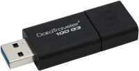 Купить USB-флешка Kingston, DataTraveler 100 G3 128GB Black (DT100G3/128GB)