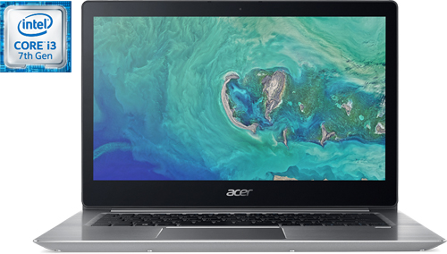Купить Ноутбук Acer, Swift 3 (SF314-52-381G) Sparkly Silver (Intel...