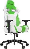 Игровое кресло Vertagear Racing S-Line SL4000 White/Green (VG-SL4000_WG) фото